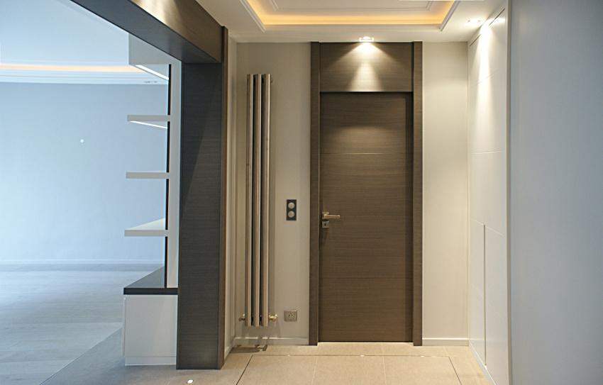 Bomport fabricant de portes contemporaines design placards rangements panneaux bois et - Porte d interieur sur mesure ...