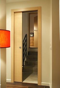 Bomport fabricant portes interieures contemporaines for Chambranle de la porte