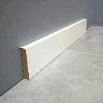 plinthe mdf medium laque blanc 100x16
