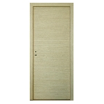 porte design contemporaine placage bois pose fin chantier